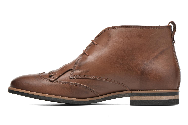 Chaussures à lacets Georgia Rose Nineg Marron vue face