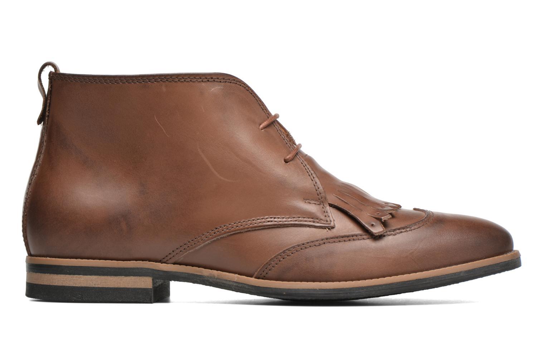 Chaussures à lacets Georgia Rose Nineg Marron vue derrière