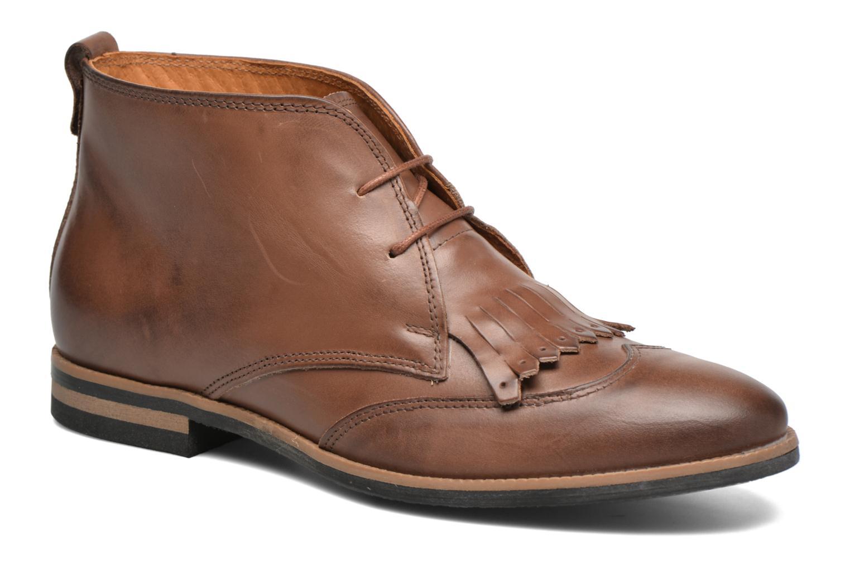 Chaussures à lacets Georgia Rose Nineg Marron vue détail/paire