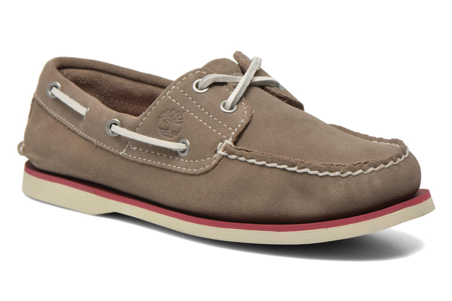 Classic 2I Boat Suede Grey