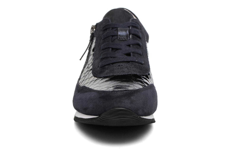 Baskets Gabor York Bleu vue portées chaussures