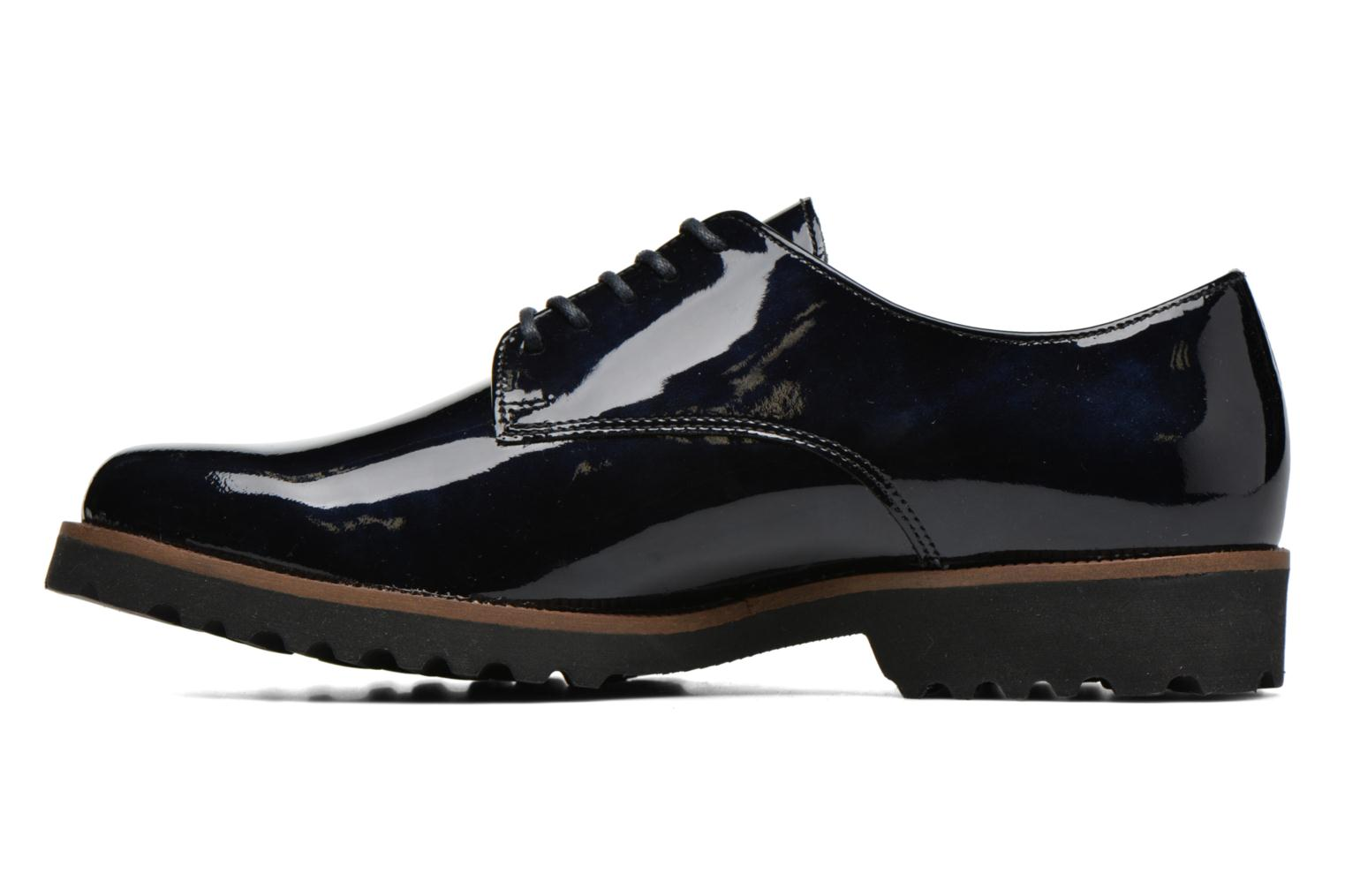 Lace-up shoes Gabor Brie Blue front view
