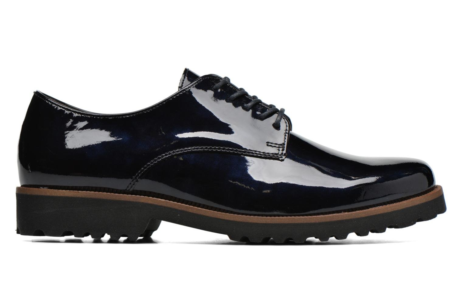 Lace-up shoes Gabor Brie Blue back view