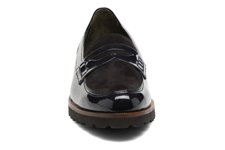 Mocassins Gabor Lynette Bleu vue portées chaussures