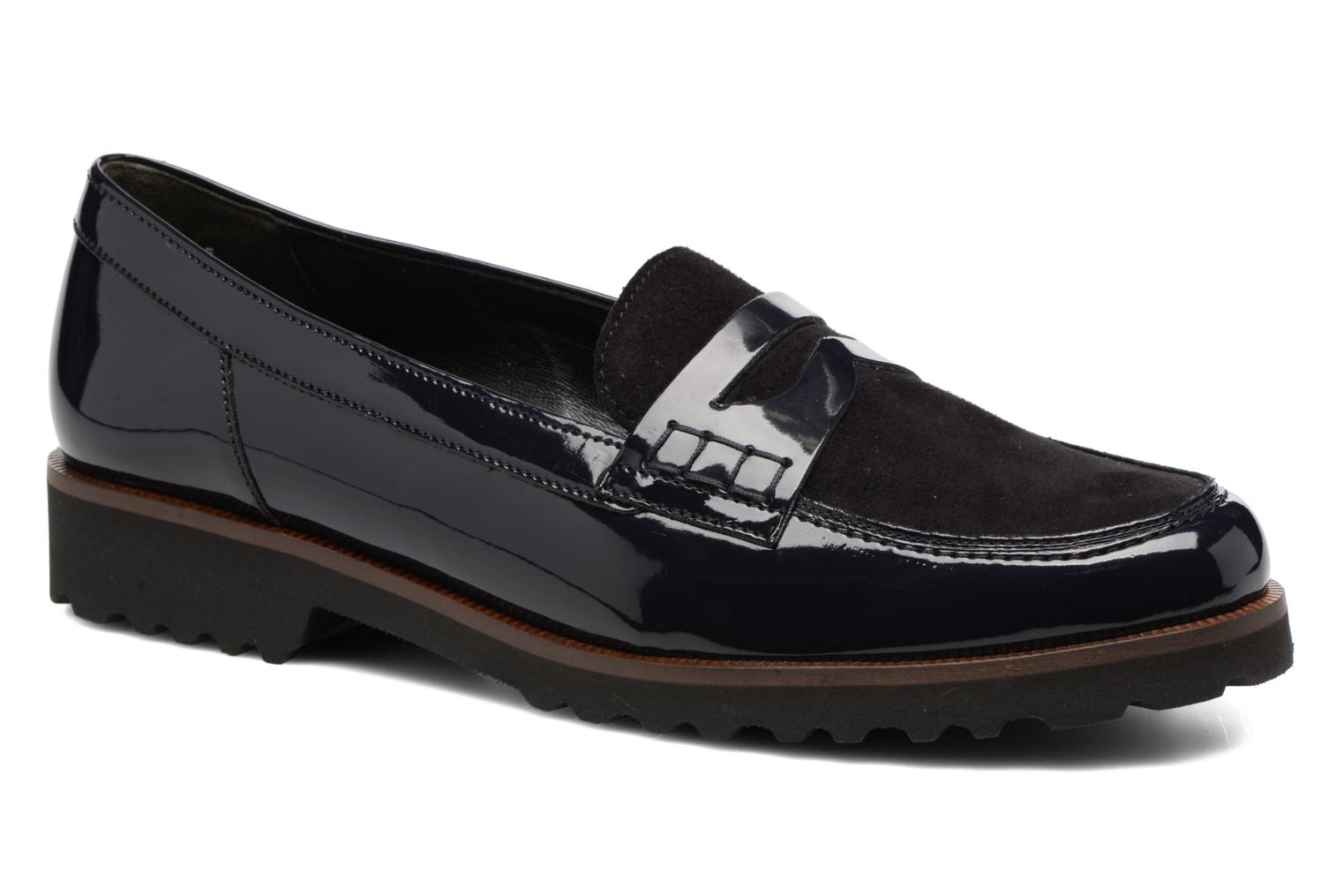 Loafers Gabor Lynette Blue detailed view/ Pair view