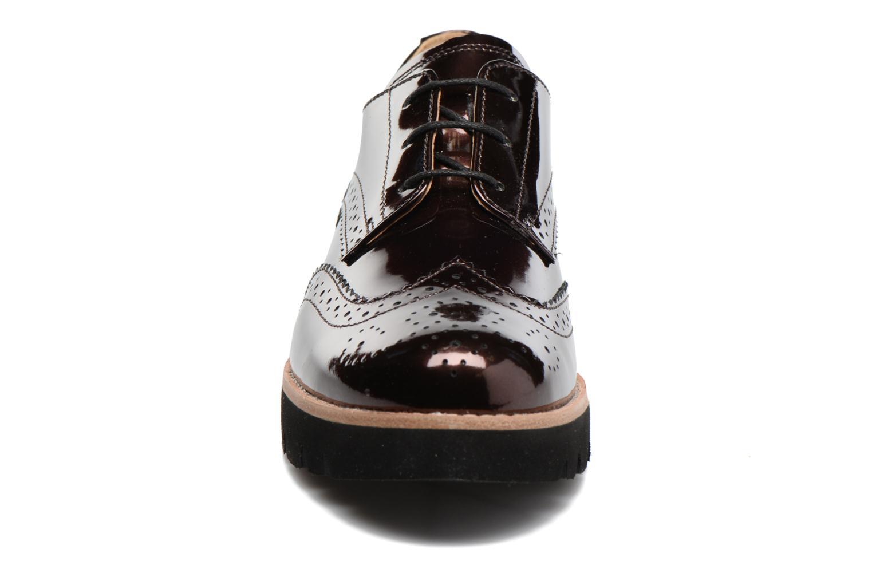 Chaussures à lacets Gabor Susan Rouge vue portées chaussures