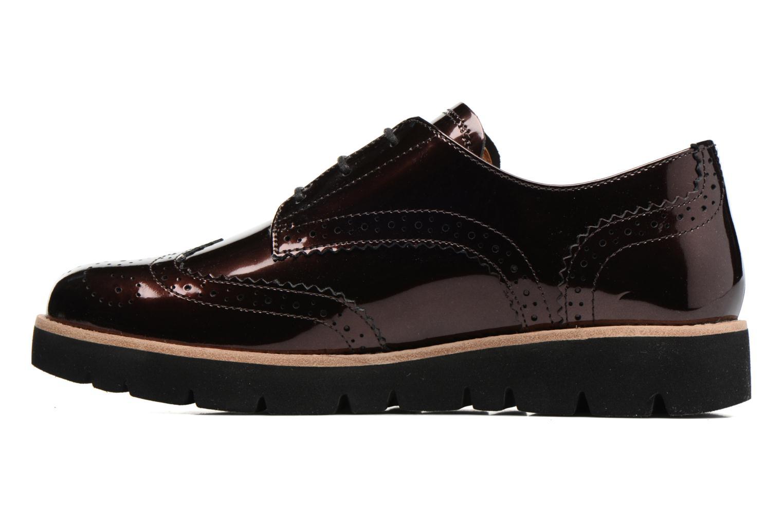 Chaussures à lacets Gabor Susan Rouge vue face