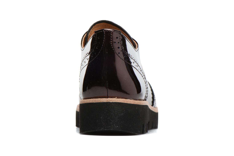 Chaussures à lacets Gabor Susan Rouge vue droite