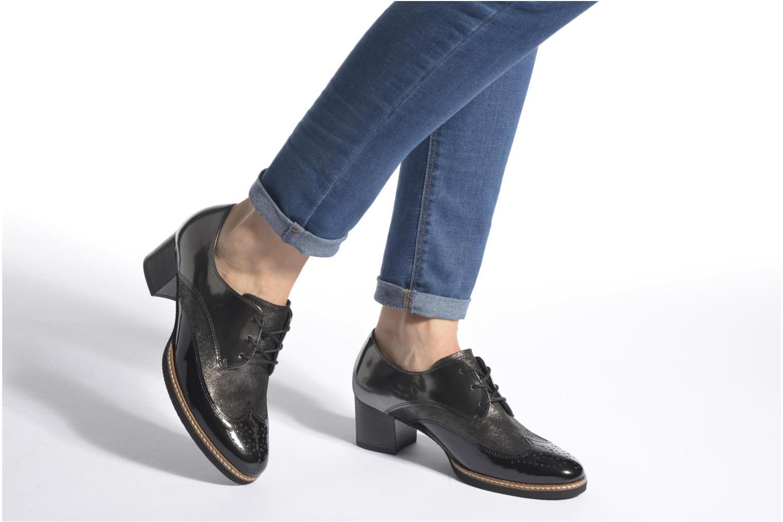 Chaussures à lacets Gabor St Tropez Gris vue bas / vue portée sac