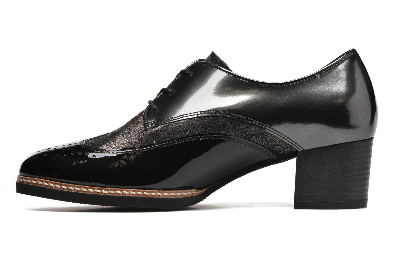 Chaussures à lacets Gabor St Tropez Gris vue face
