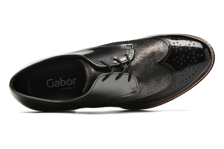Chaussures à lacets Gabor St Tropez Gris vue gauche
