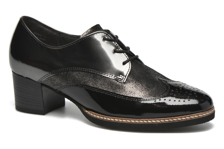 Chaussures à lacets Gabor St Tropez Gris vue détail/paire