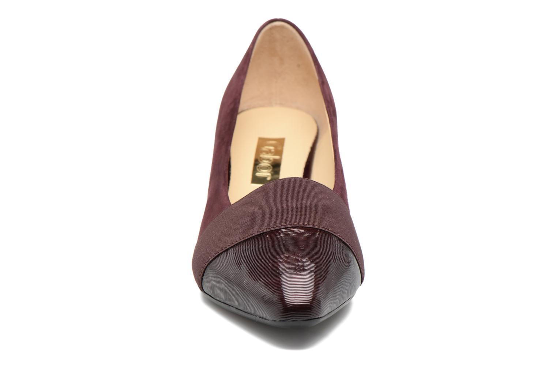Escarpins Gabor Gabriella Rouge vue portées chaussures