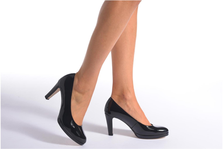 Zapatos de tacón Gabor Myriam Negro vista de abajo