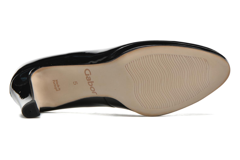 Zapatos de tacón Gabor Myriam Negro vista de arriba