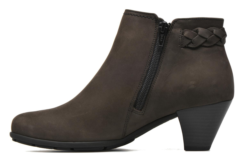 Bottines et boots Gabor Manuelle Gris vue face
