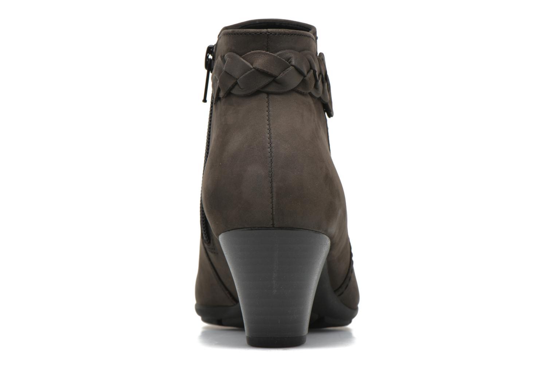 Bottines et boots Gabor Manuelle Gris vue droite