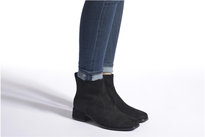 Bottines et boots Gabor Lamy Noir vue bas / vue portée sac