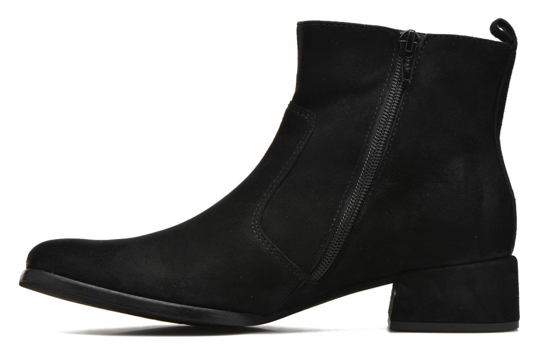 Bottines et boots Gabor Lamy Noir vue face