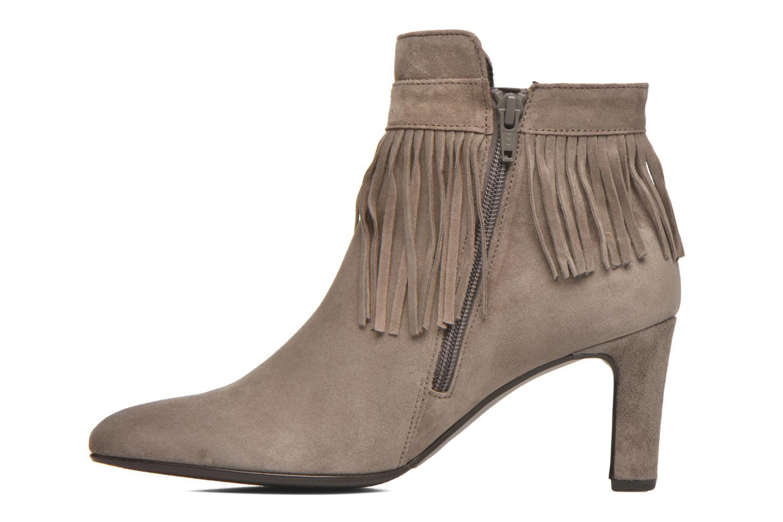 Bottines et boots Gabor Mathilda Gris vue face