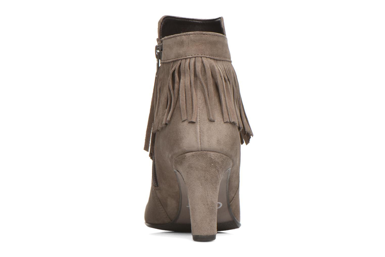 Bottines et boots Gabor Mathilda Gris vue droite