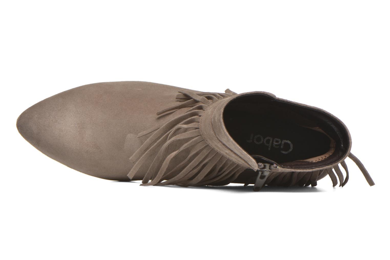 Bottines et boots Gabor Mathilda Gris vue gauche