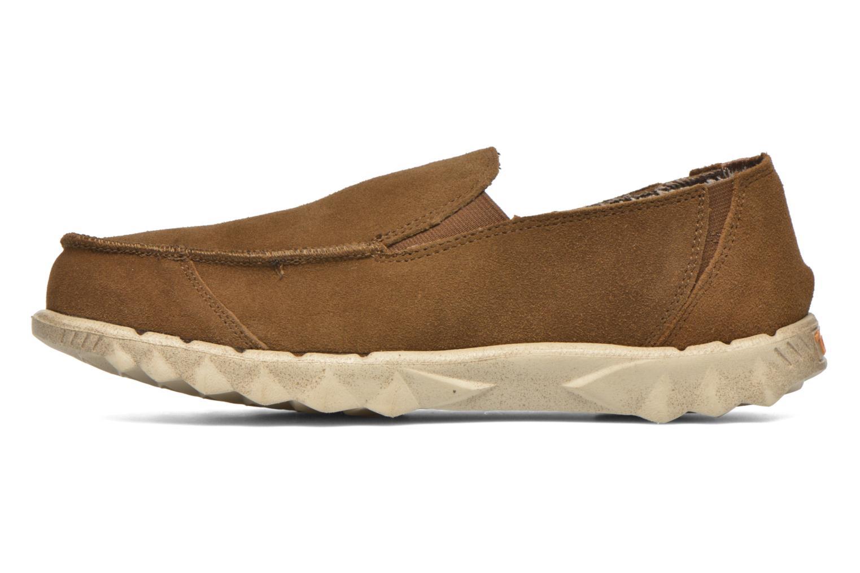 Loafers DUDE Farty Suede Brun bild från framsidan