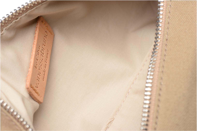 School bags Vanessa Bruno Trousse paillettes toile Green back view