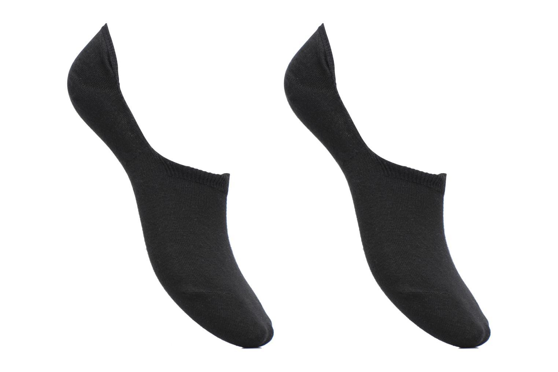 Calze e collant Sarenza Wear Chaussettes Protèges - Pieds Homme : pack de 2 coton Nero vedi dettaglio/paio