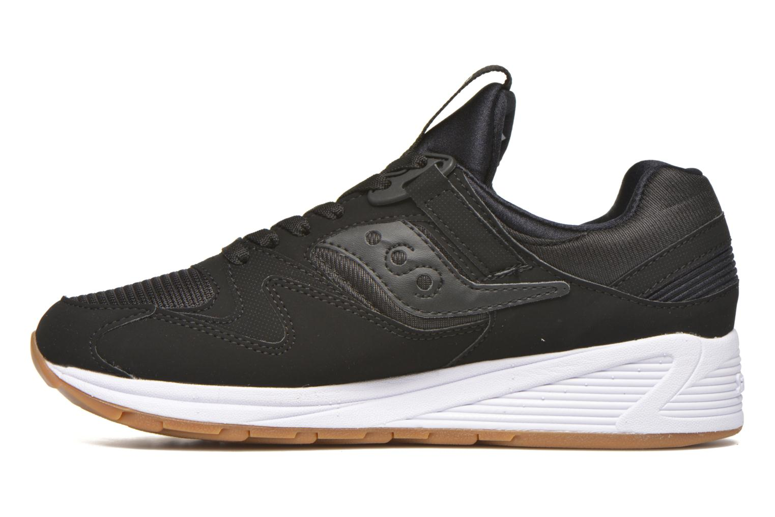 Baskets Saucony Grid 8500 Noir vue face