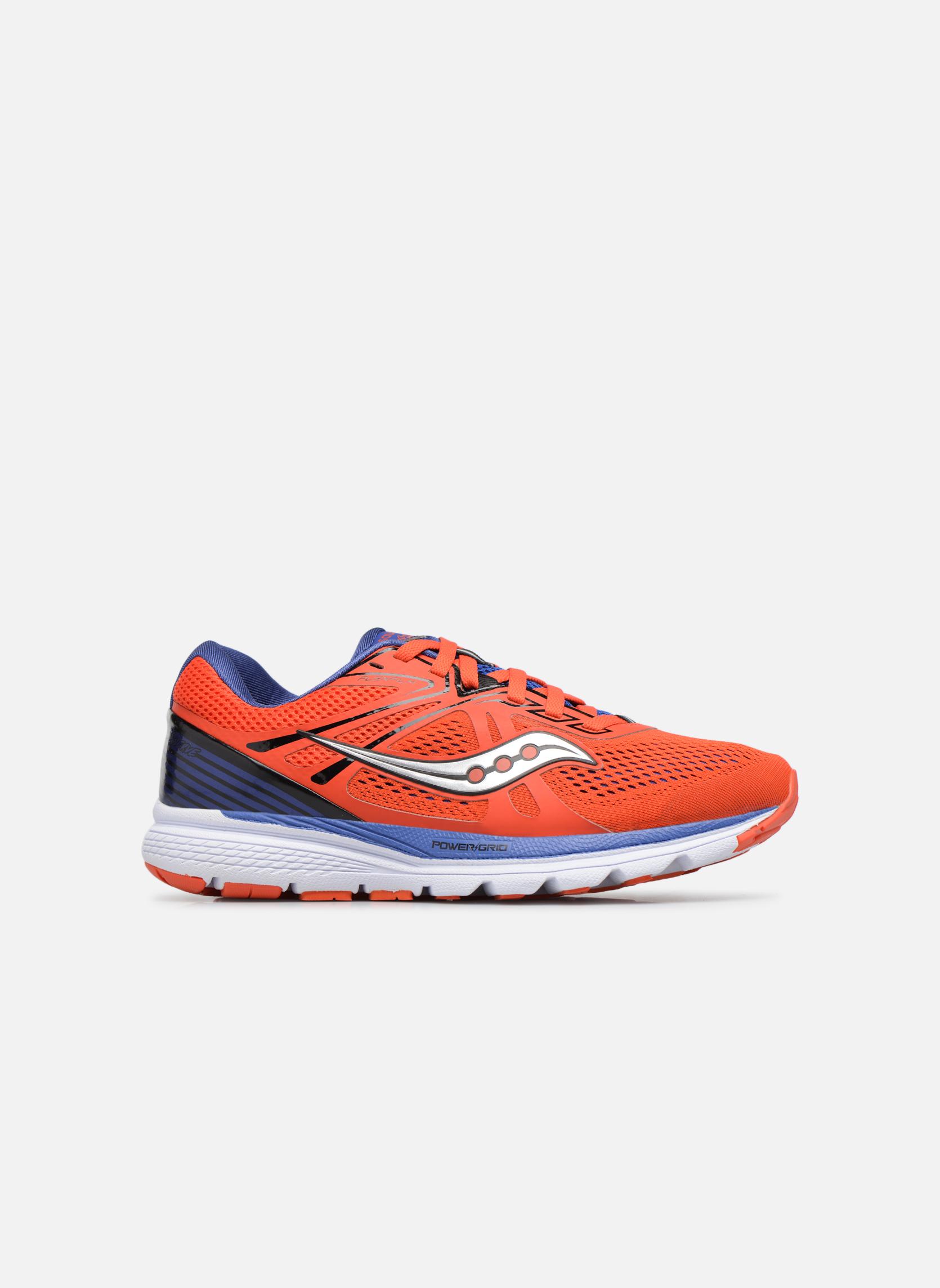 Chaussures de sport Saucony Swerve Rouge vue derrière