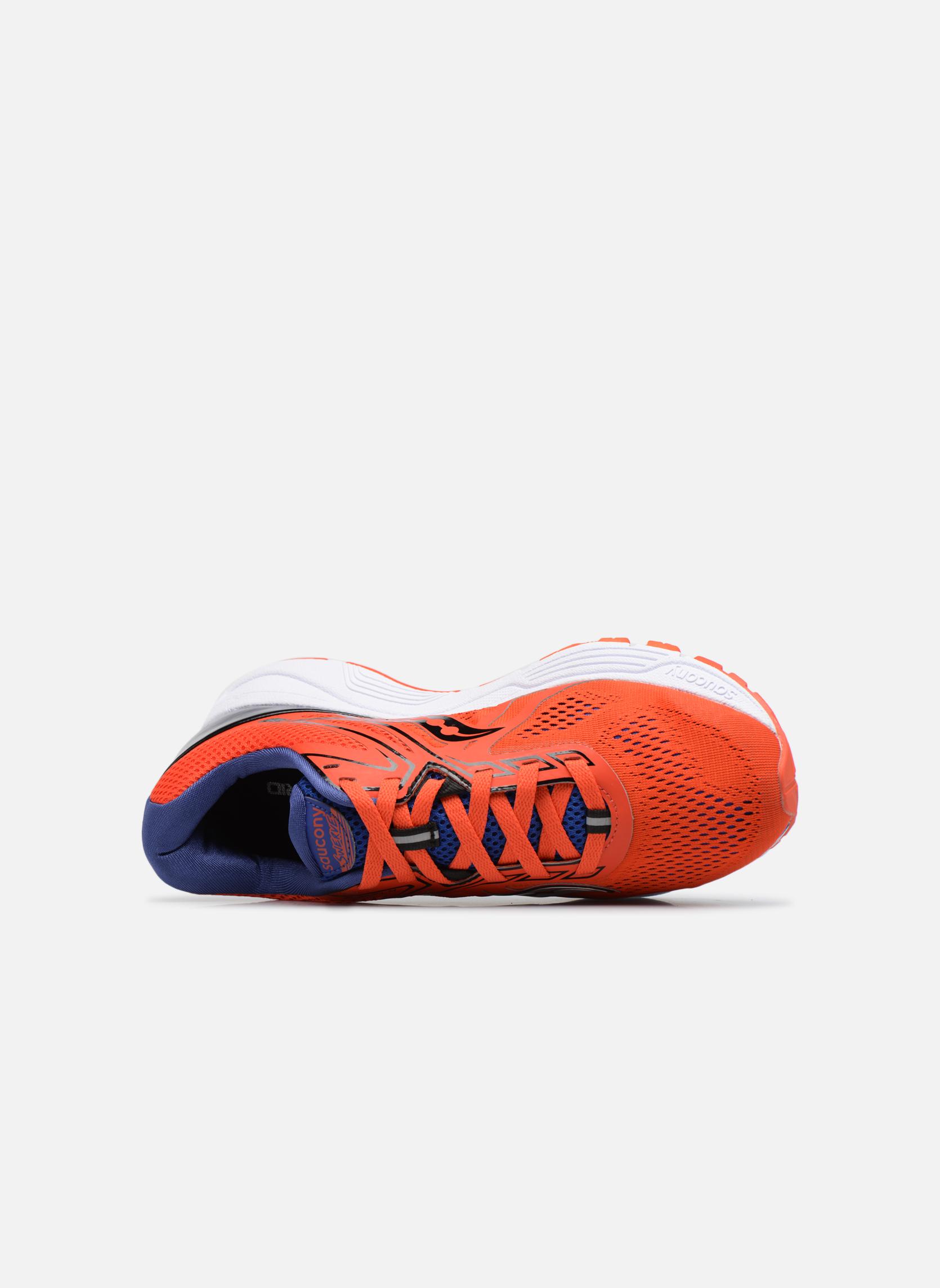 Chaussures de sport Saucony Swerve Rouge vue gauche