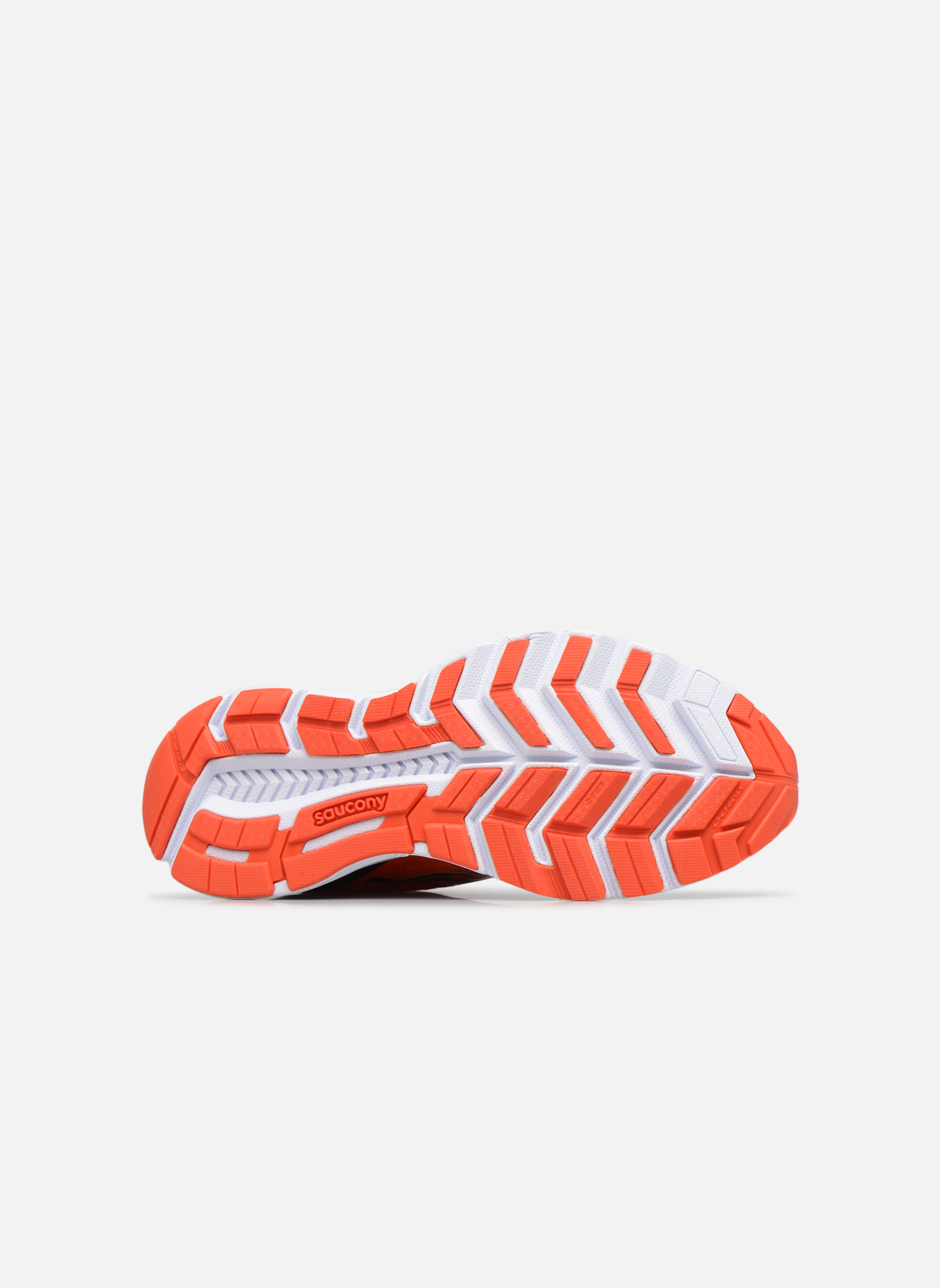 Chaussures de sport Saucony Swerve Rouge vue haut