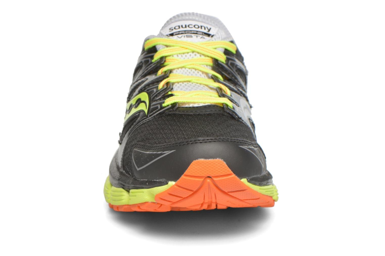 Chaussures de sport Saucony Propel Vista Noir vue portées chaussures