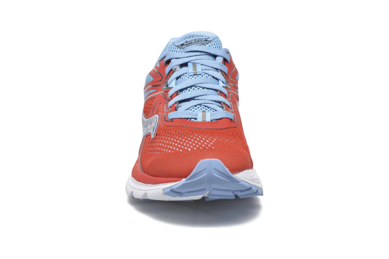 Chaussures de sport Saucony Swerve W Orange vue portées chaussures