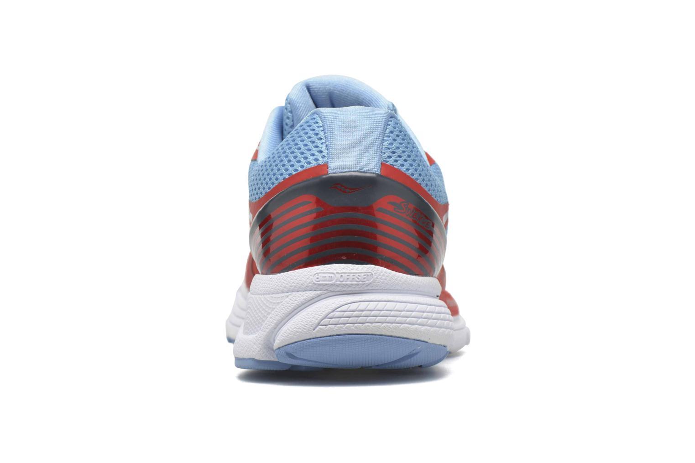 Chaussures de sport Saucony Swerve W Orange vue droite