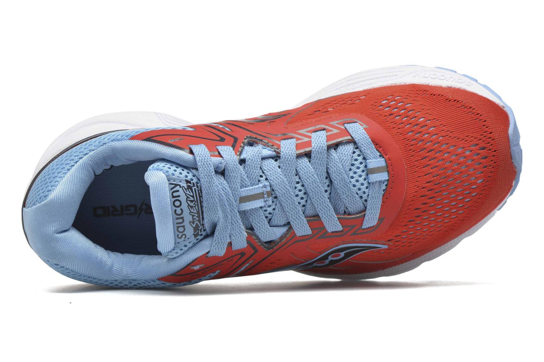 Chaussures de sport Saucony Swerve W Orange vue gauche