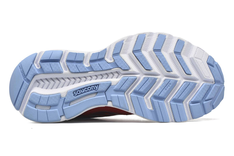Chaussures de sport Saucony Swerve W Orange vue haut