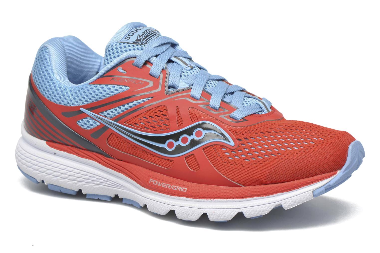 Chaussures de sport Saucony Swerve W Orange vue détail/paire