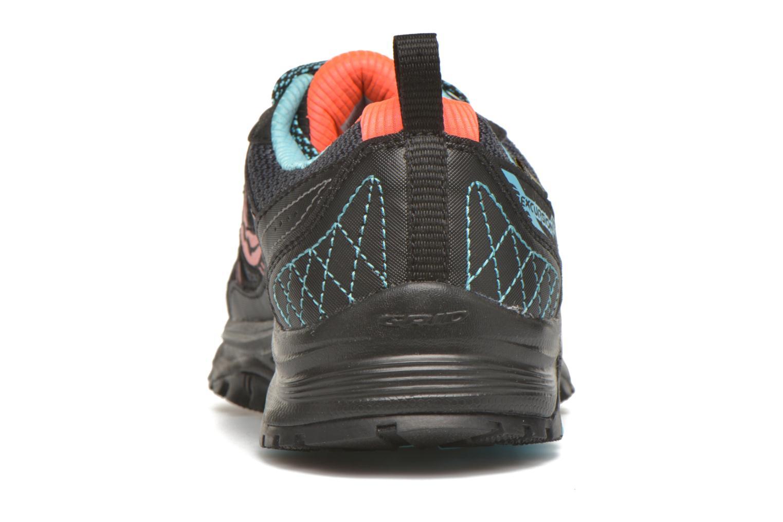 Zapatillas de deporte Saucony Excursion TR10 GTX W Negro vista lateral derecha