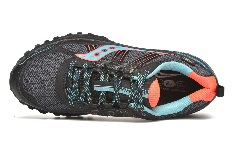 Zapatillas de deporte Saucony Excursion TR10 GTX W Negro vista lateral izquierda