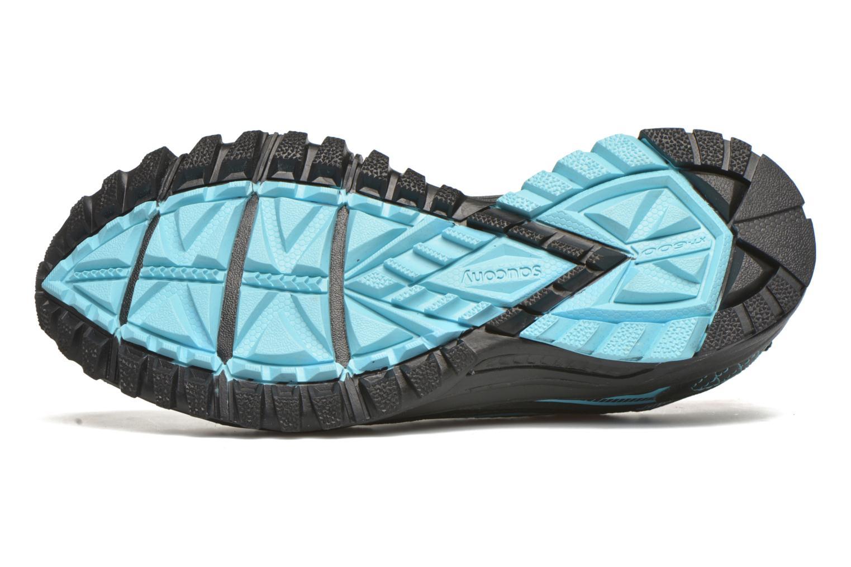 Zapatillas de deporte Saucony Excursion TR10 GTX W Negro vista de arriba