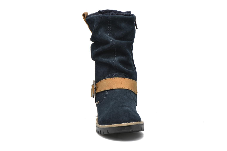 Bottes Primigi Panky Bleu vue portées chaussures