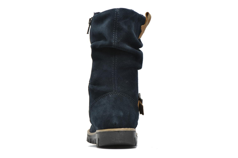 Stiefel Primigi Panky blau ansicht von rechts
