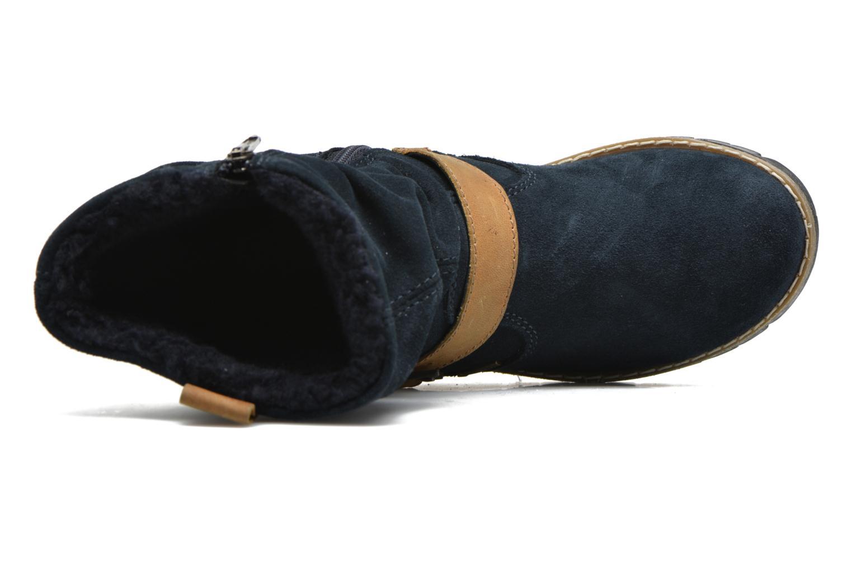 Stiefel Primigi Panky blau ansicht von links