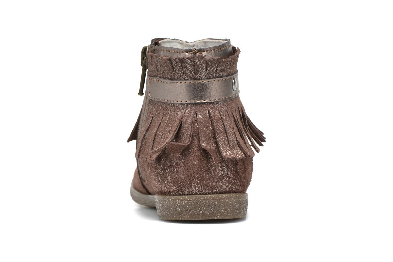 Bottines et boots Primigi Siusy Beige vue droite