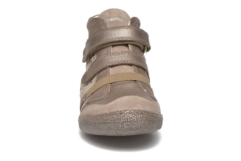 Chaussures à scratch Primigi Hulda 2-E Beige vue portées chaussures