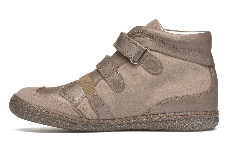 Zapatos con velcro Primigi Hulda 2-E Beige vista de frente