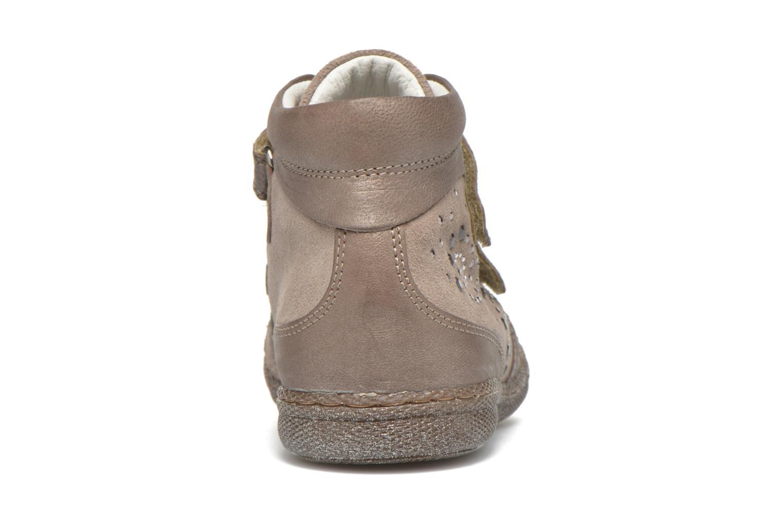 Chaussures à scratch Primigi Hulda 2-E Beige vue droite