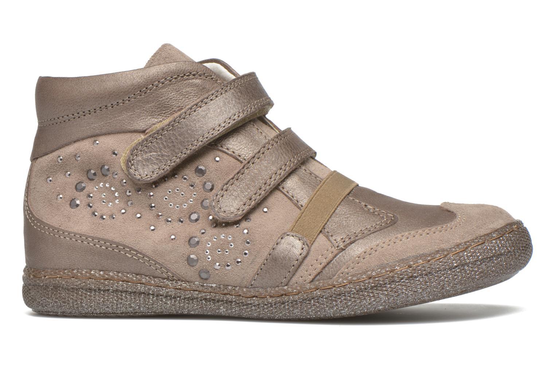 Zapatos con velcro Primigi Hulda 2-E Beige vistra trasera